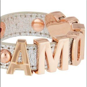 BCBG AMOUR Script Bracelet